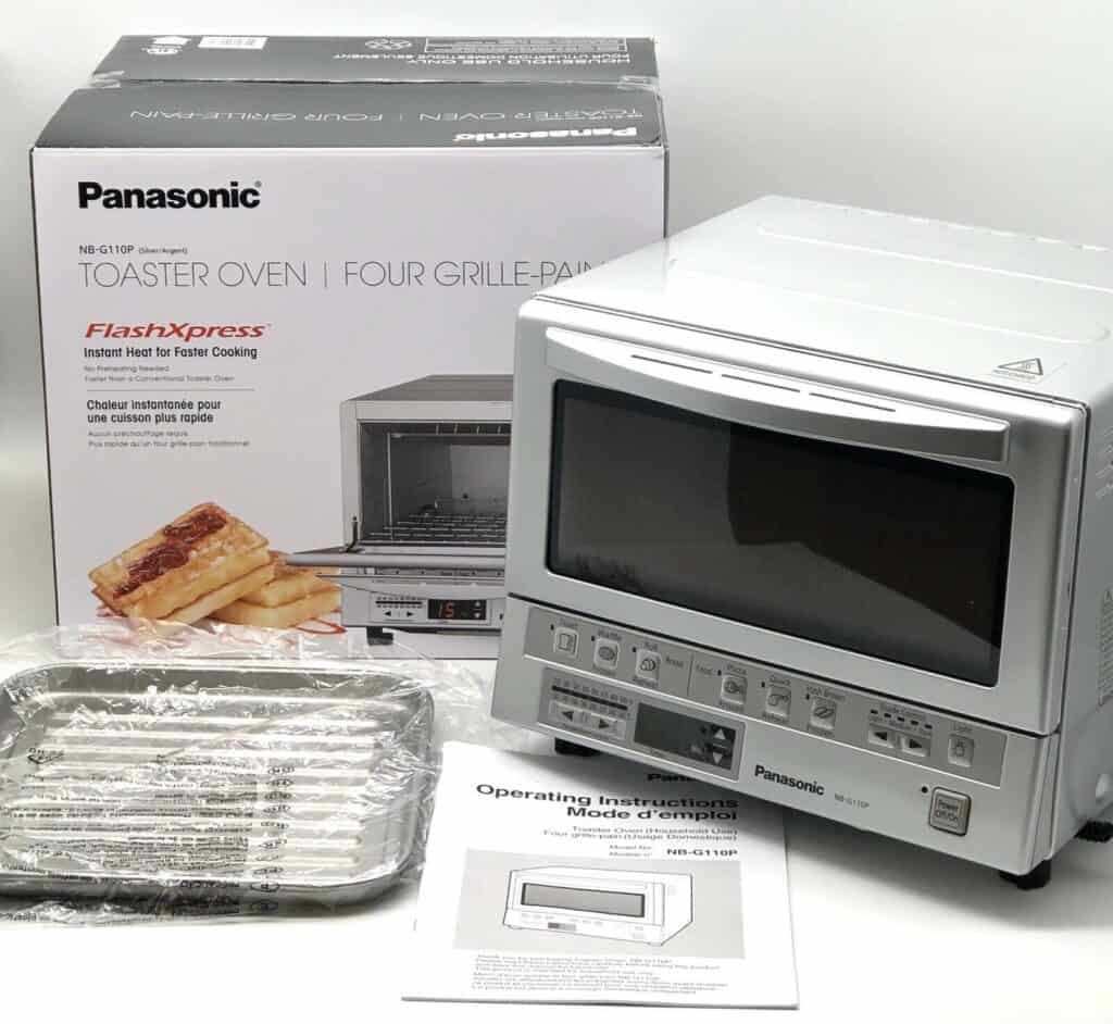 Review of Panasonic FlashXpress Compact Toaster Oven (NB-G110P) 1