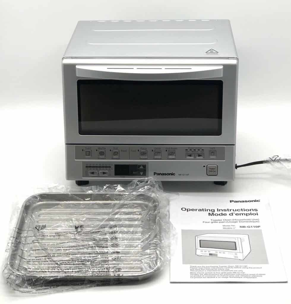 Review of Panasonic FlashXpress Compact Toaster Oven (NB-G110P) 2