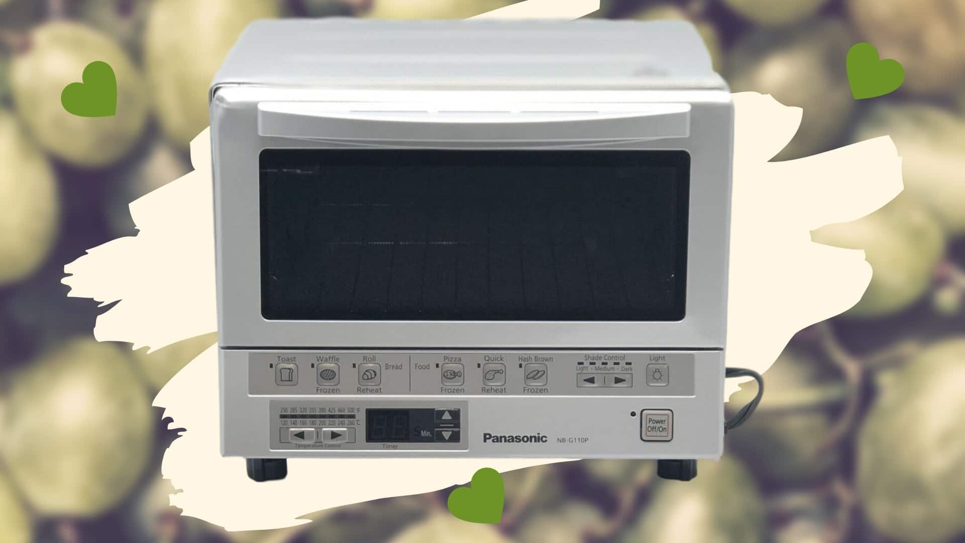 Panasonic Flashxpress Compact NB-G110P Toaster Oven featured image