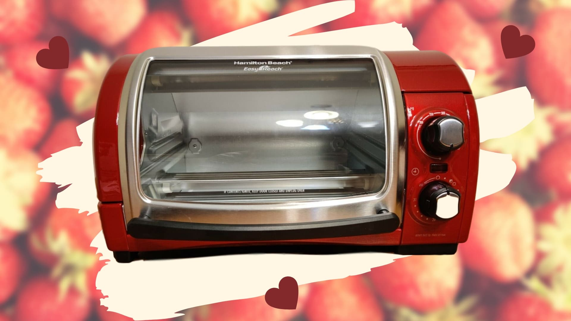 Featured image for Hamilton Beach Easy Reach 6-slice Toaster Oven Review