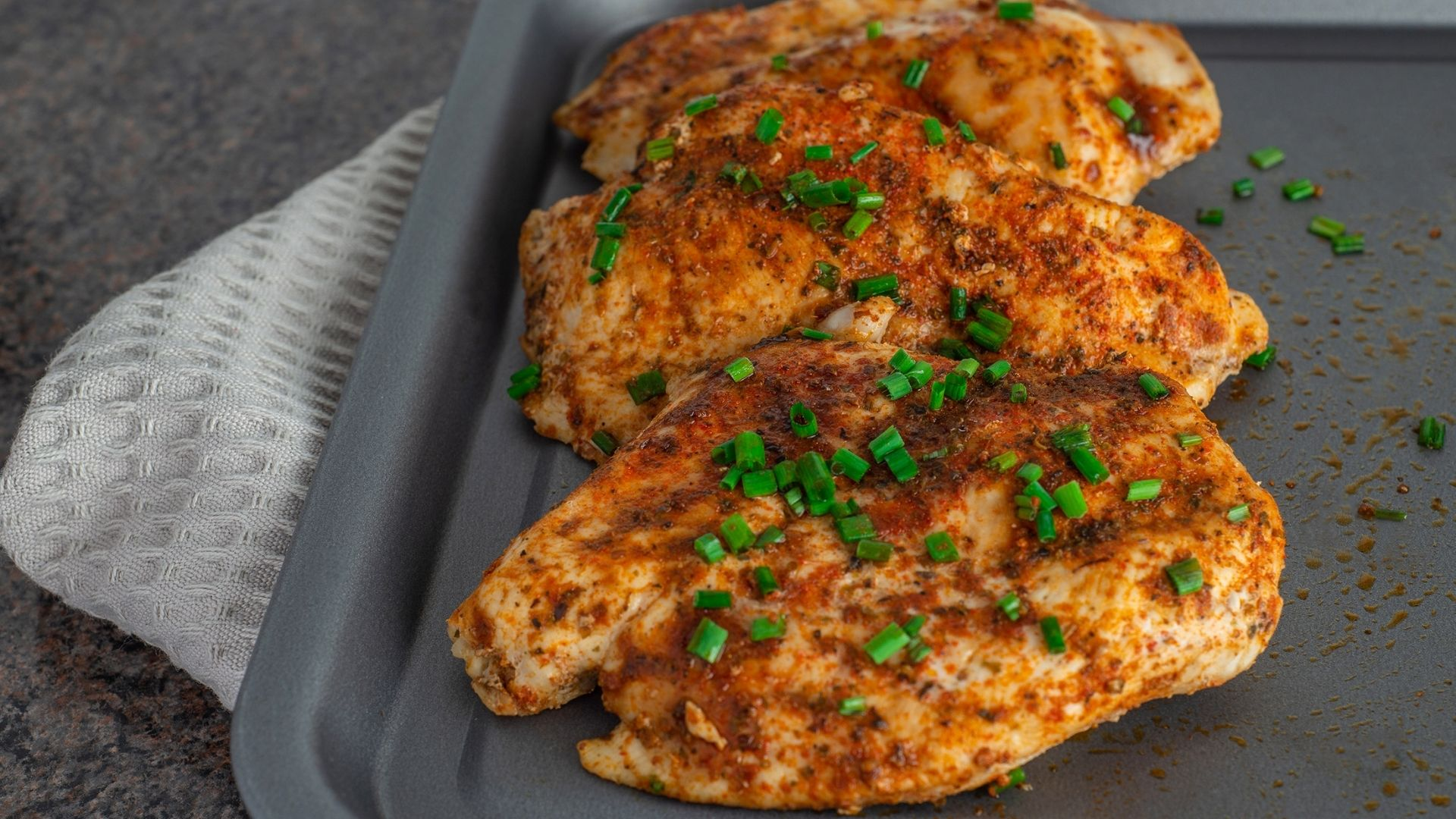 Featured image for How to Bake Chicken Breasts in a Toaster Oven