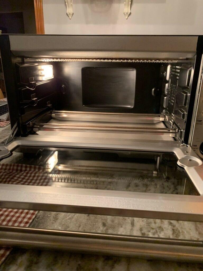 Breville BOV845BSS Smart Oven Pro open
