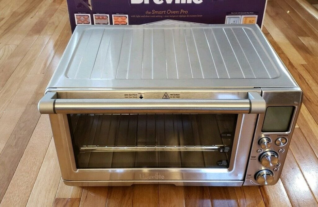 Breville BOV845BSS Smart Oven Pro front view