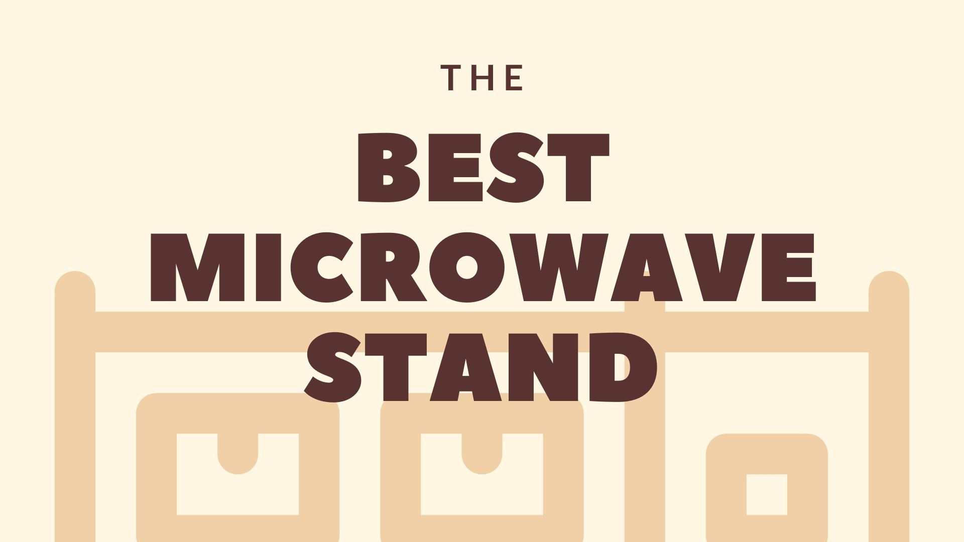 Featured Image for Best Microwave Stand