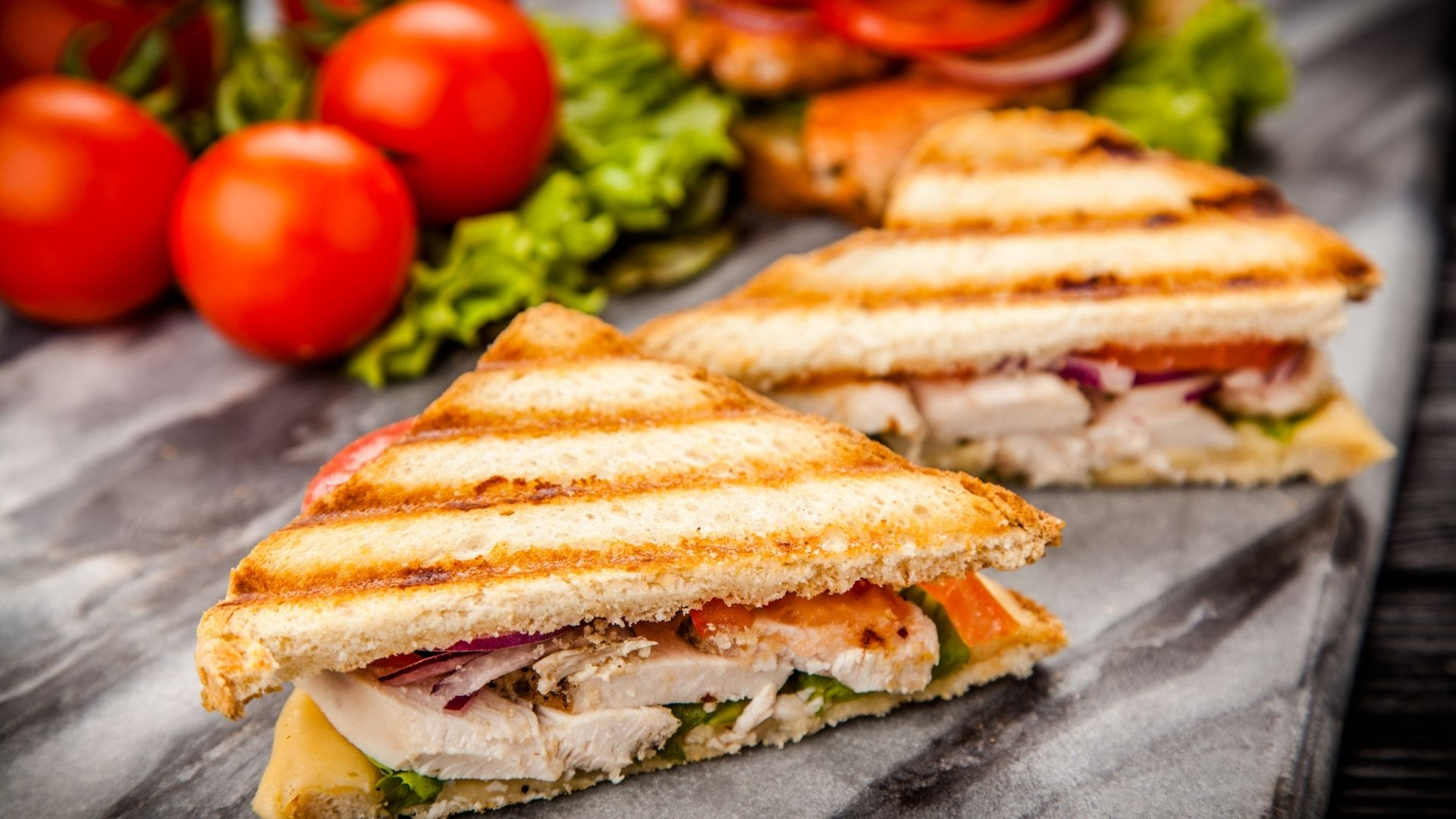 Featured Image for Chicken and Pesto Sandwich