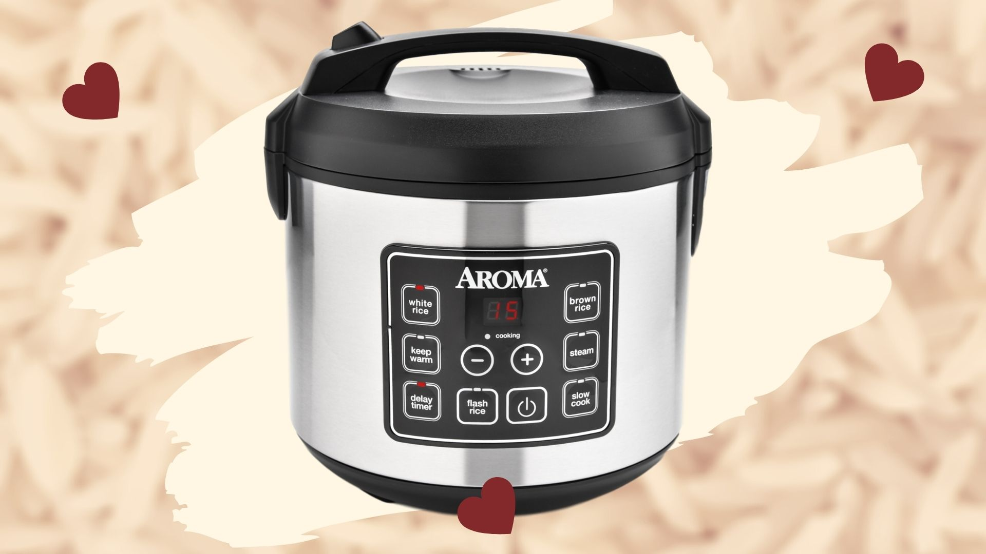 Featured Image for Aroma Rice Cooker Review