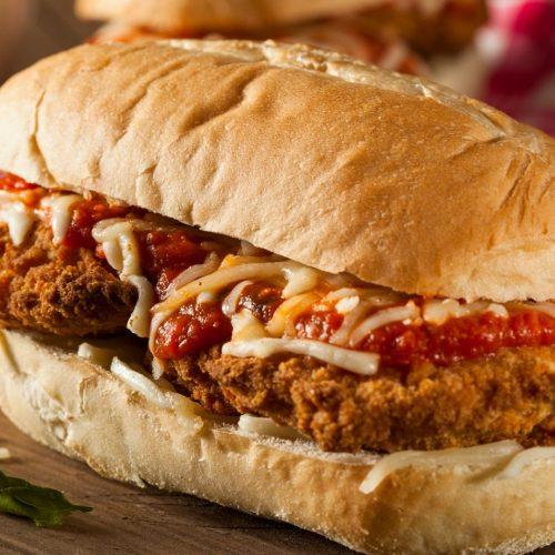 Featured Image for Chicken Parmesan Sandwich