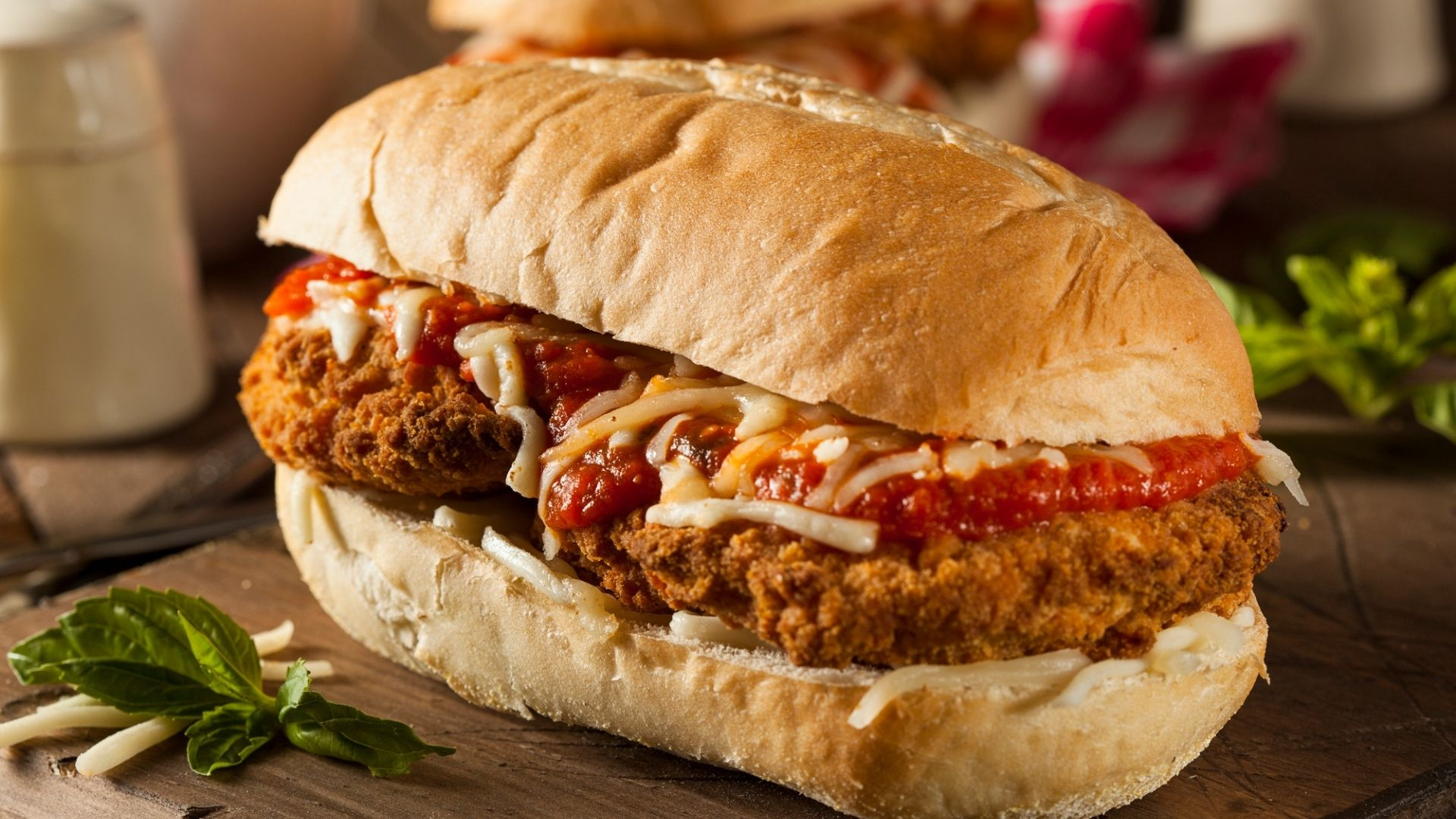 Featured Image for Chicken Parmesan Sandwich