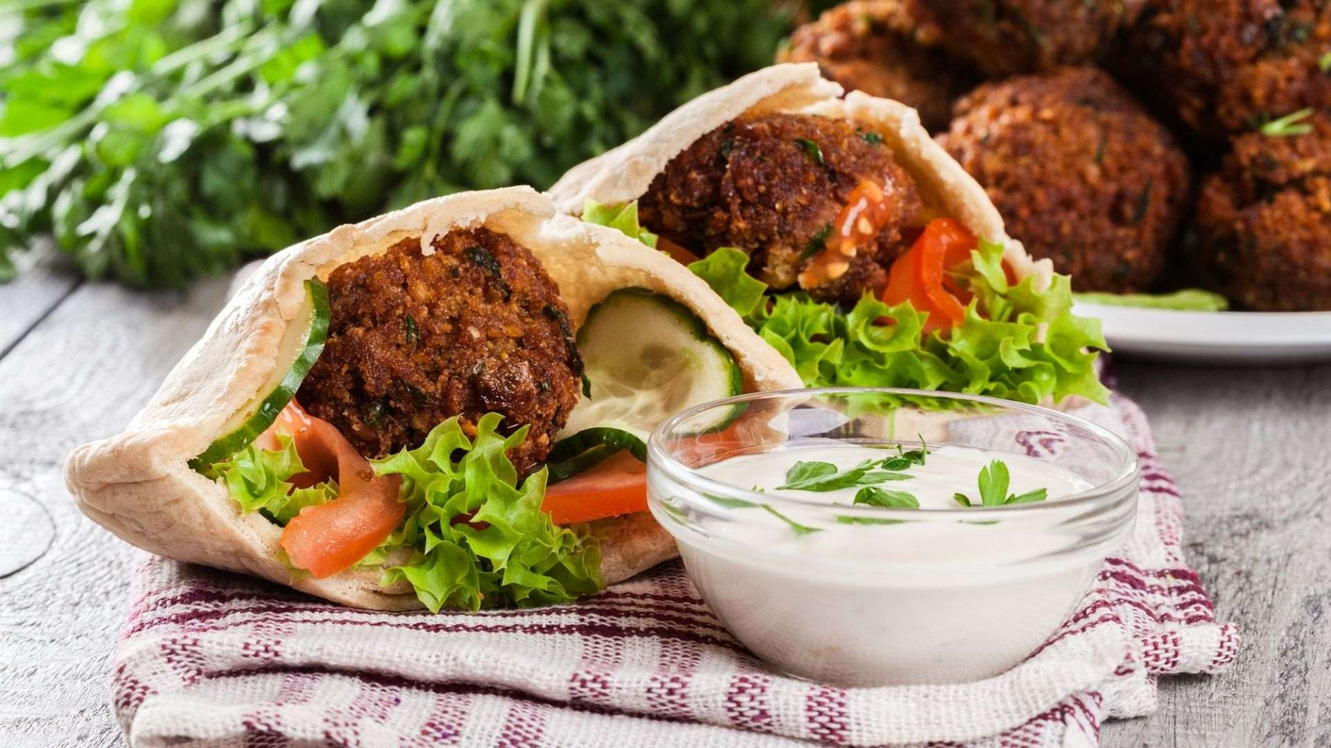 Featured Image for Falafel Sandwich Recipe