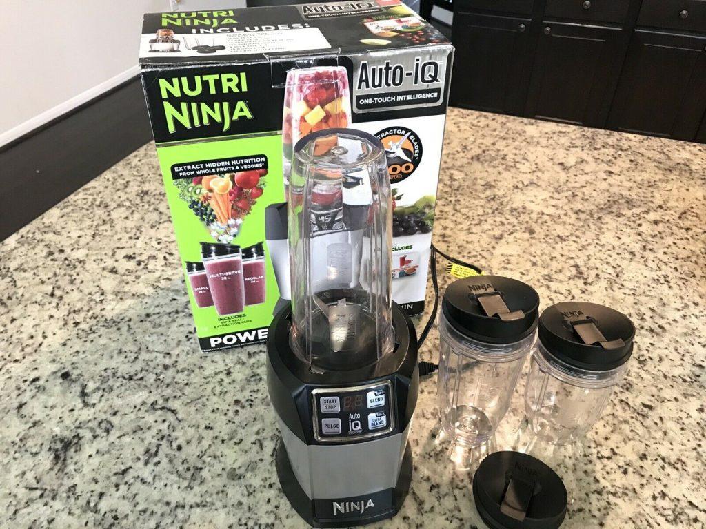 Nutri Ninja Auto IQ Blender Review 1