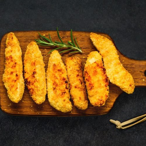 Chicken Fingers from a Toaster Oven