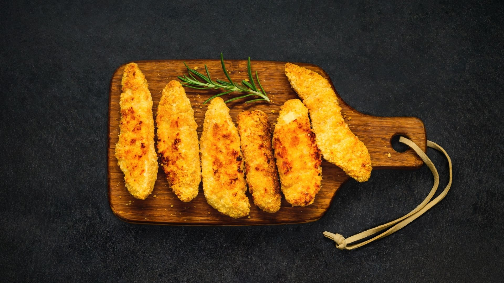 Chicken Fingers from a Toaster Oven 7