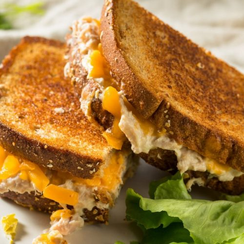 Deli Tuna Melts from Toaster Oven