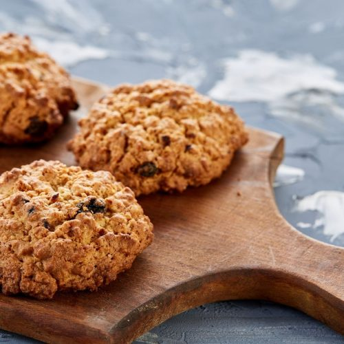 Oatmeal Raisin Cookies Baked in a Toaster Oven