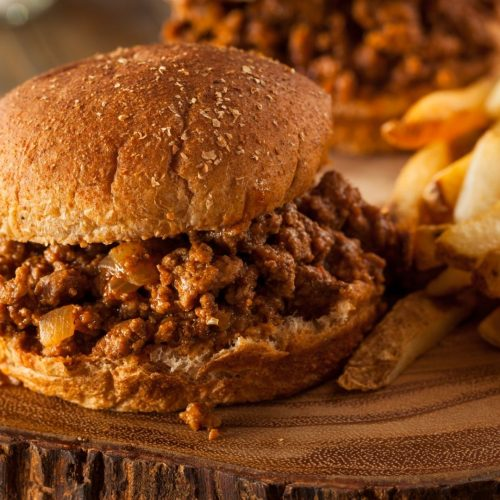 Sloppy Joes from a Toaster Oven
