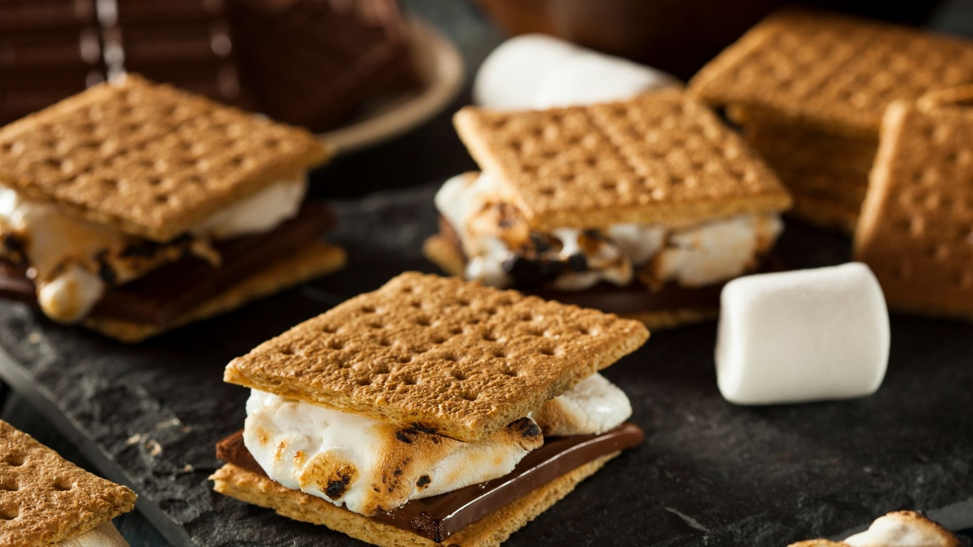 S'mores from a Toaster Oven