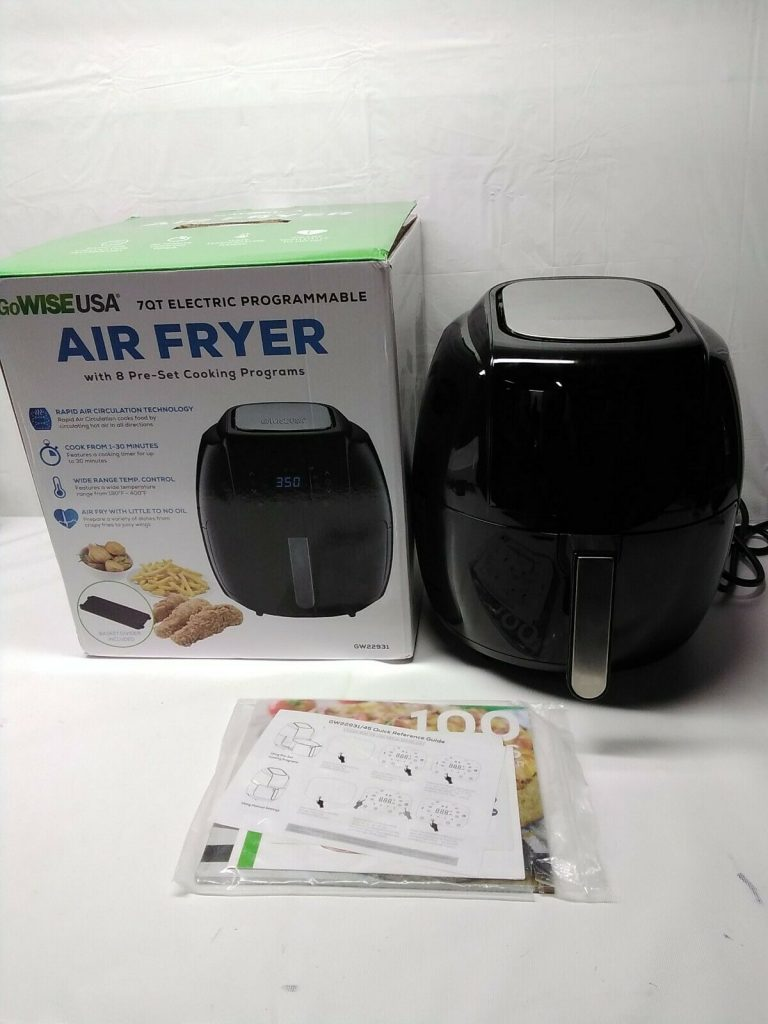 GoWISE Air Fryer Review 4