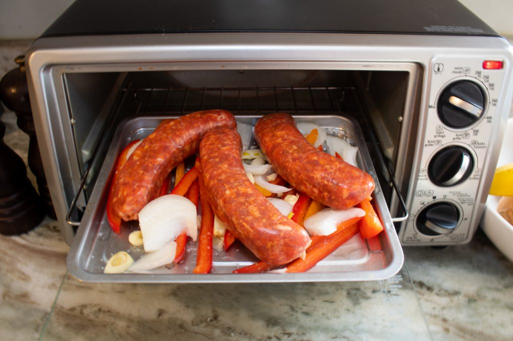 sausage and peppers in to1313sbd