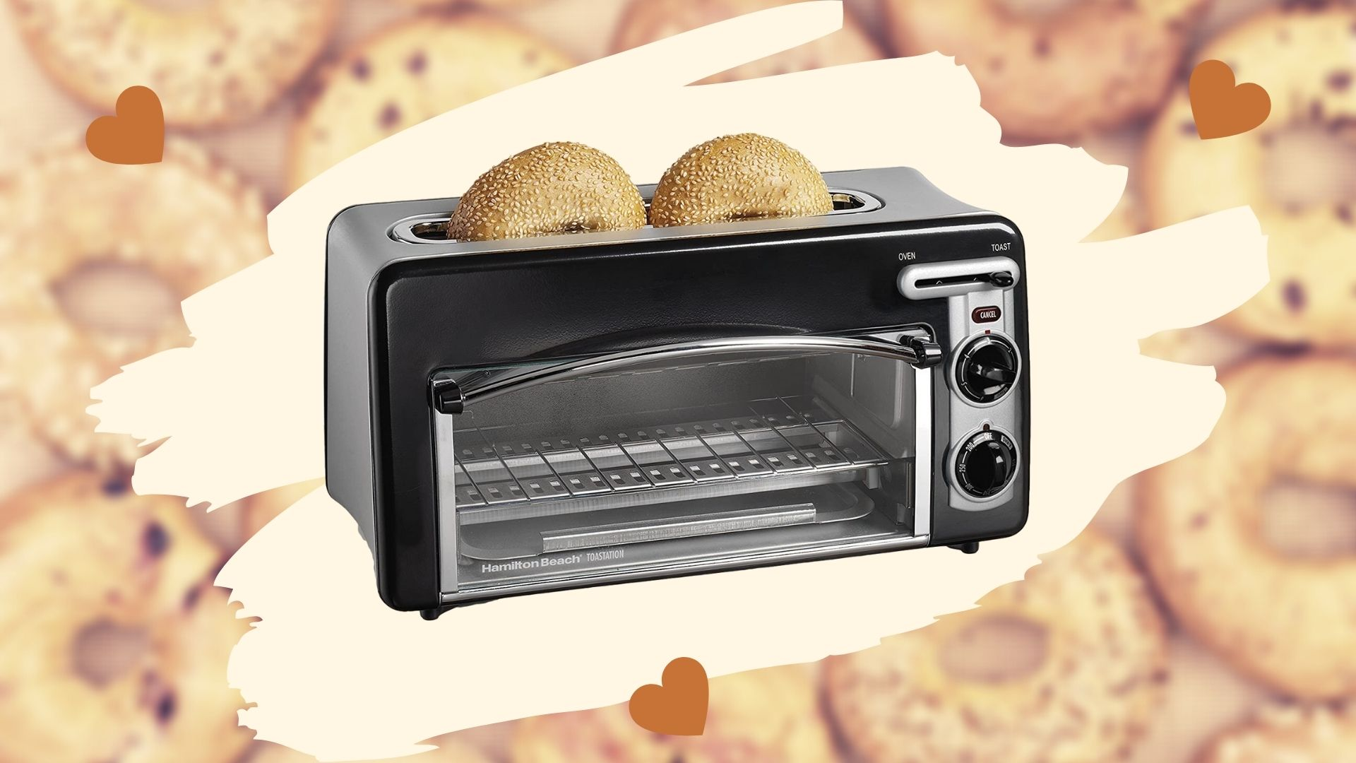 Hamilton Beach Toastation 2-in-1 Toaster Oven Toaster Review 11