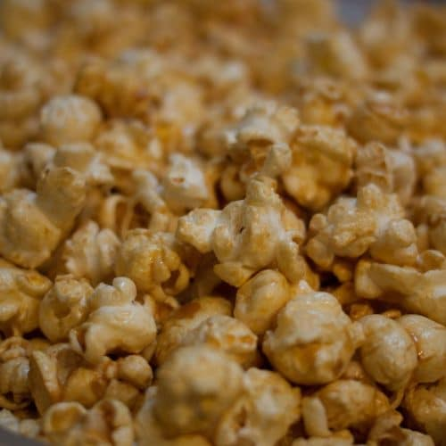 Coconut Curry Popcorn in Air Fryer